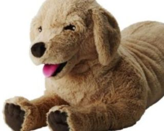 "IKEA Golden Retriever Lab Dog 27 "" Kids Stuffed Animal Toy Gosig New"