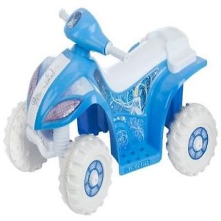 Kids Ride on Toy Kid Trax Cinderella 6V Quad Car New Gift