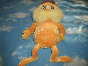 Kohls Cares for Kids Dr Suess The Lorax Plush Stuffed Toy Animal