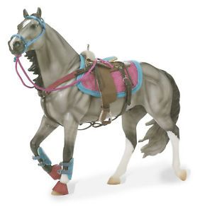 Breyer Traditional Toy Horse Accessory Western Saddle Bridle Tack Set 2042
