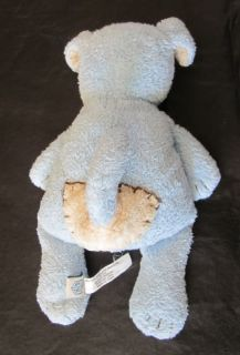Pbk Pottery Barn Kids Plush Chamois Puppy Dog Doggie Patch Blue Mini 7 Lovey Toy