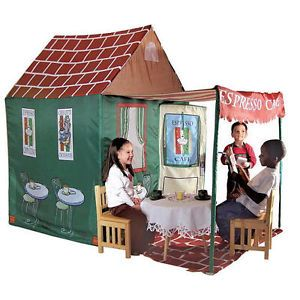 Kid's Adventure Expresso Cafe 7 Foot Play House