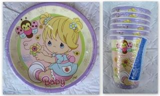 Precious Moments Party Supplies Plates Cups Baby Shower