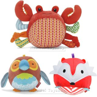 Baby Kids Soft Toy Plush Stuffed Animals Ball Baby Development Toys 9 Models
