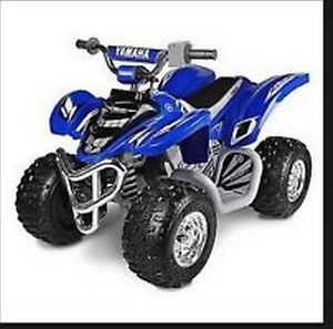 Blue Yamaha Raptor Boys ATV 12 Volt Battery Power Ride on Toy 700R Vehicle