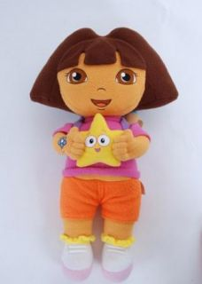 "13"" Dora The Explorer Kids Girl Soft Cuddly Stuffed Plush Toy Doll"