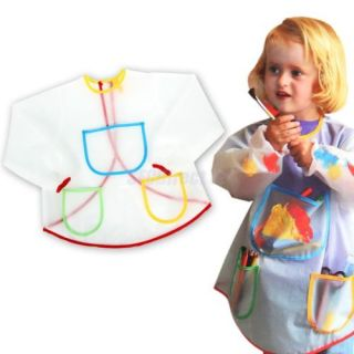Cooking Painting Smock Apron for Kids Boys Girls Children Art Craft