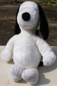 "Snoopy 19"" Plush Stuffed Toy Dog Animal Determined Productions USA 1972 Peanuts"
