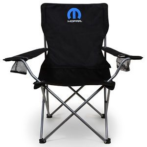 Mopar Parts Dodge Chrysler Jeep Plymouth Folding Chair with Bag
