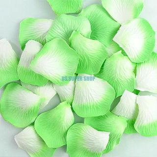1 Pack of Silk Rose Petals Wedding Bridal Party Flower Scatters Decoration Favor
