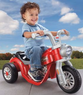 Power Wheels Harley Davidson Lil' Harley Motorcycle 6V Electric Ride on X6222