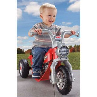 Power Wheels Lil' Harley Davidson Motorcycle 6V Electric Ride on Open Box