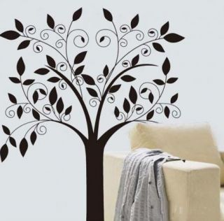 Cute Owl Branch Tree Wall Sticker Decals Decor Wallpaper PVC Reusable
