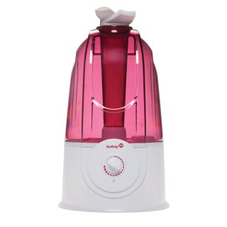 Safety 1st Quiet Ultrasonic 360 Baby Kids Humidifier Raspberry IH283