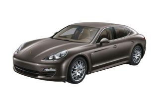 Porsche Panamera s Model Car 1 43 Carbon Grey