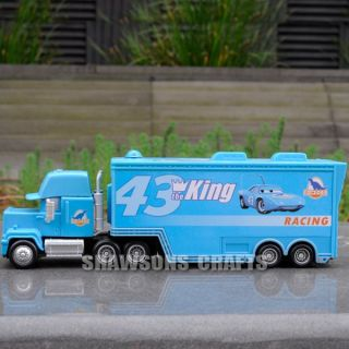 DISNEY PIXAR CARS 8 6 DIECAST MACK SUPER LINER TRUCK FIGURE FOR 43 THE KING