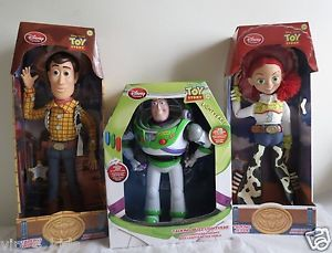Disney Toy Story 3 Talking Woody Jessie Buzz Lighter Action Figure Dolls New