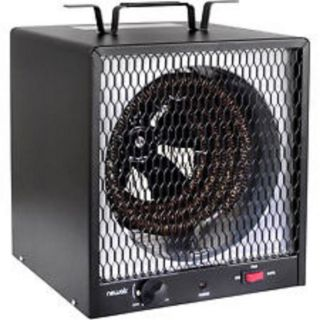 Heavy Duty 5300W Electric Garage Heater Commercial Utility Workshop Shed Heat