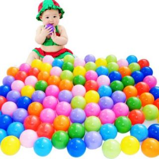 New 200 Pcs 2 76'' Colorful Fun Soft Plastic Ocean Swim Ball Pit Baby Kid Toy
