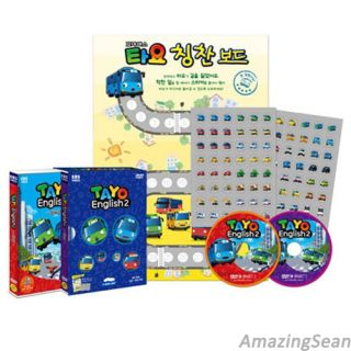 Little Bus Tayo DVD 2 English Version Korean Animation Cartoon TV Character DV03