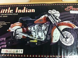 Little Indian Ride on Motorcycle