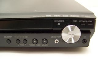 Panasonic SA PT753 5 Disc DVD Home Theater w SH FX65T Transmitter No Speakers