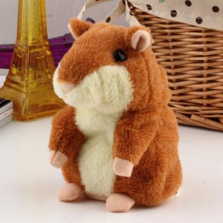 Lovely Talking Sound Record Electronic Hamster Plush Toy Kids Gift He