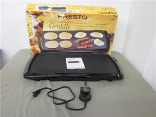 Presto Parrilla Cool Touch Electric Griddle New in Box 07030