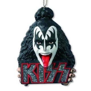 Kurt Adler Kiss Band Christmas Ornament Demon Head Rock