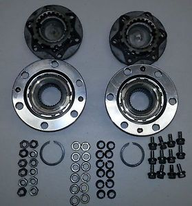 Toyota 4Runner Pickup Aisin 4WD 30 Spline Straight Axle SAS Manual Locking Hubs