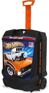 Hot Wheels Car Suite Case Luggage Travel Toy Trucks Kids Boy Play Storage Bin