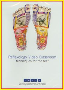 Reflexology for The Feet Professional Massage Instructional DVD New Sale