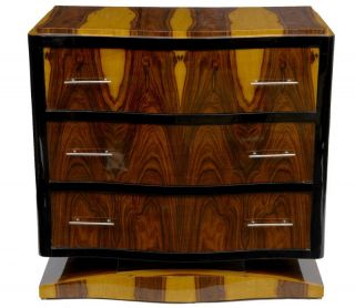 Art Deco Crinkle Cabinet Chest Cupboard Vintage Furniture