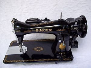 Vintage 1954 Heavy Duty Singer Sewing Machine