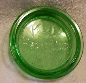 Vintage Green Depression Glass