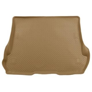 Husky Liners Floor Mat Floor Liner Cargo Tray Rubberized Tan Jeep Each