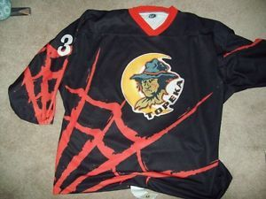 Topeka Scarecrow's Game Worn CHL Halloween Hockey Jersey 10 29 2000