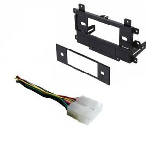 Aftermarket Radio Stereo Installation Single DIN Dash Kit Wire Harness Install
