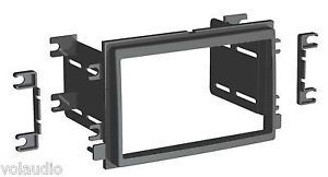 2004 2009 Select Ford Mercury Double DIN Radio Installation Dash Kit