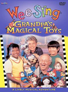 Wee Sing Grandpa's Magical Toys New DVD