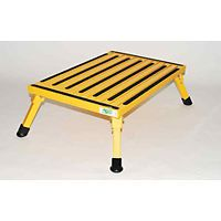 Motorhome Safety Step Folding RV Step Stool Portable Extra Large Yellow