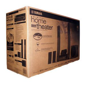 New Yamaha YHT 899U 5 1 Channel Home Theater in A Box Speaker System YHT 899UBL