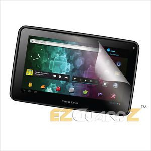 1x EZguardz Screen Protector Skin 1x for Visual Land Prestige 7L Internet Tablet