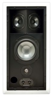 Niles IW650FX Stage Front FG01331 in Wall Enclosed Home Theater Rear Speakers