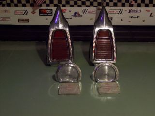 1963 Buick LeSabre Taillights Parking Lights Housings