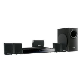 Panasonic SC PT480P K 1000Watt DVD Home Theater System 5 1 CH Surround Sound
