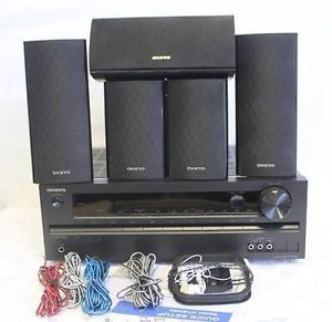 Onkyo HT S3400 5 1 Channel Home Audio Speaker Subwoofer Theater System Black