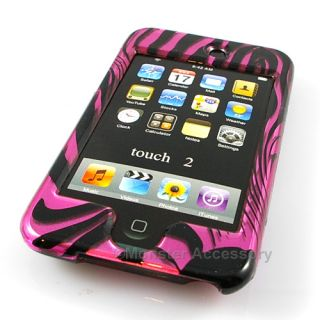 Pink Giraffe Hard Case Apple iPod Touch 2G 3G Accessory