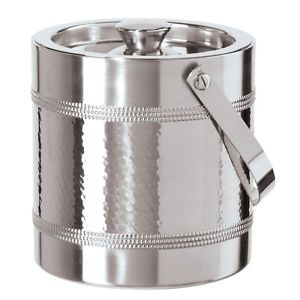 Oggi Stainless Steel Double Wall Ice Bucket 2 Liter New