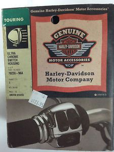 Harley Davidson Ultra Chrome Switch Housings Touring 70228 96A